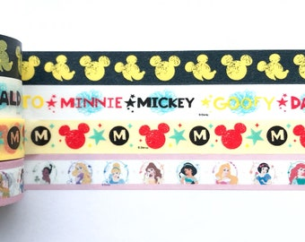 "Mouse, Princess Washi Tape 24"" Sample"