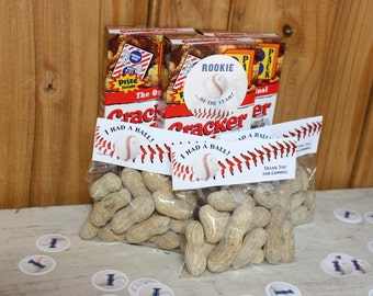 Baseball Treat Bag Topper - INSTANT DOWNLOAD - DIY Printable - Baseball Party - Snack Label