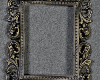 5 x 7 Frame Ornate Plastic with optional ULTRAVIEW Glass and Backing