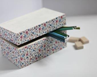 Box handmade wooden