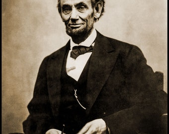 Photo of Abraham Lincoln by Alexander Gardner, 1865