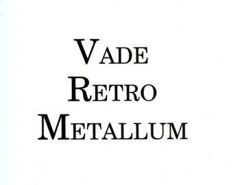 Vade retro metallum french jewelry book about chasing