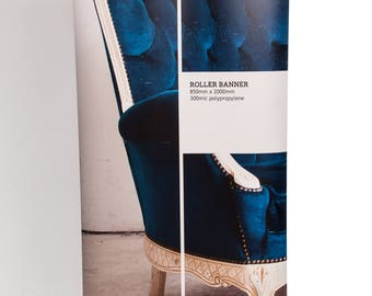 Roller Banner 2000x850mm with FREE design & case!