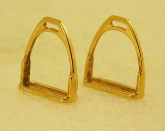 Bronze Stirrups