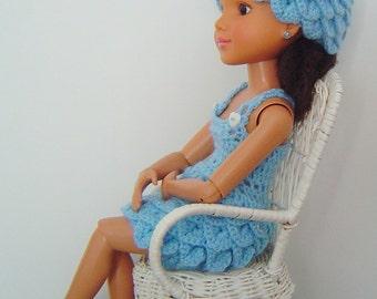 """0061 18 Inch Crocodile 3PC Crochet Pattern BFC Ink 18"""" dolls or Similar"""