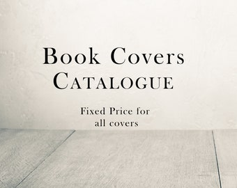 Book Covers Catalogue, Self Publishing, eBook, Amazon KDP Cover, Kindle, Pre-made Book Cover Design, Customized