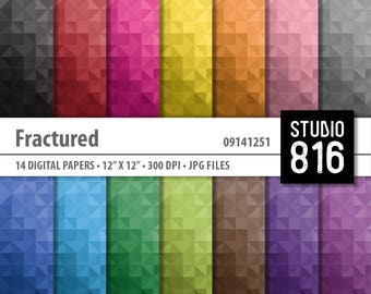 Fractured - Digital Paper for Scrapbooking, Cardmaking, Papercrafts #09141251