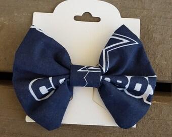 Dallas Cowboys Hair Bow or Bow Tie