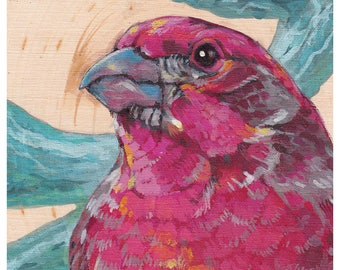 Print or Card: Purple Finch