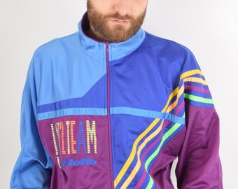 Vintage Lotto Int'l Jacket Size M Made in Italy 90's (1994)
