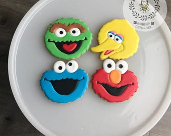 Elmo and Friends Cookies