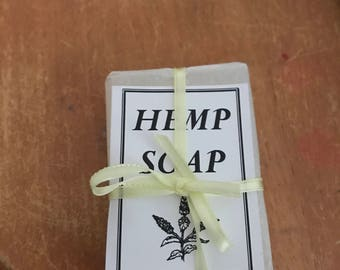 Natural Hemp Seed Oil Soap 50gm