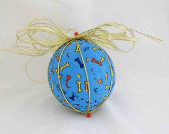 Doggy Christmas Ornament, Dog Christmas Ornament, Dog Ornament. Christmas Ornaments, Handmade Ornaments
