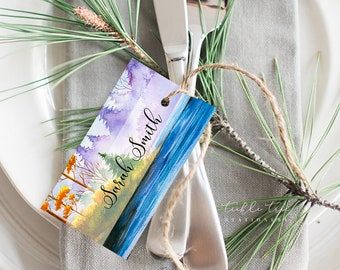 Nature's Landscape & Us - Hang Tags (Style 13767)