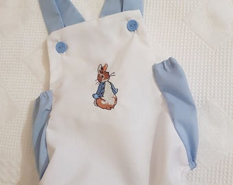 Peter rabbit romper 12montgs