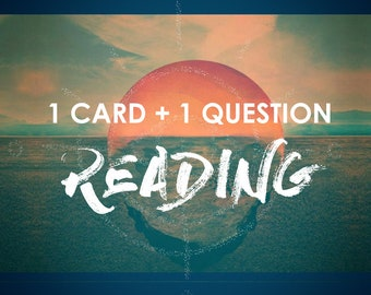 1 Card + 1 Question Reading
