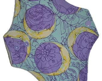 Moderate Core- Lunar Moons Reusable Cloth Maxi Pad- WindPro Fleece- 10 Inches (25.5 cm)