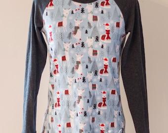 CUSTOM Women's Raglan Shirt