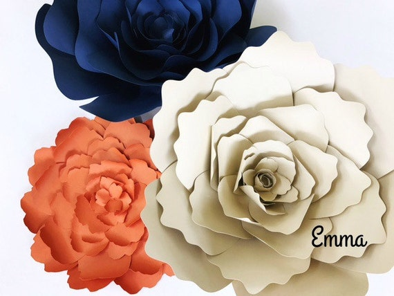 Floral paper craft template flower template paper cutting mightylinksfo