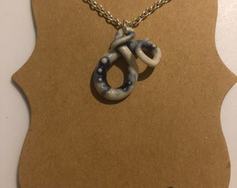 Ceramic Tentacle Pendant