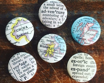 Travel Lovers Magnets set of six