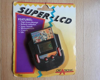 Creatronic Super LCD Vintage Handheld Game WG-39 NOS New Old Stock