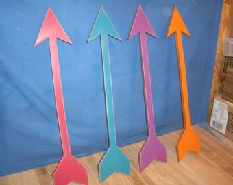 "24"" wooden arrow, wood arrow, nursery arrow, nursery decor, arrow decor, arrow"