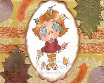 1827 Leaf Me Alone Digi Stamp