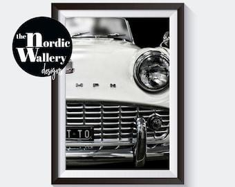 Classic car photo/ Vintage car print/ Retro car photo/ Vintage car photo/ Car wall art/ Antique car print/ Large wall print