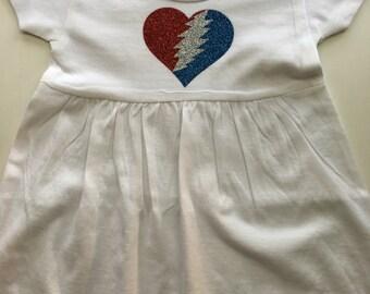 Grateful Dead Baby Dress