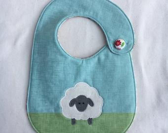 Emilie the Sheep Infant Bib