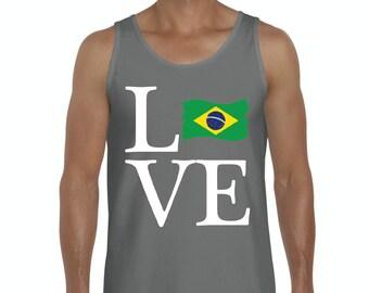Love Brazil  Men Ultra Cotton Tank Top