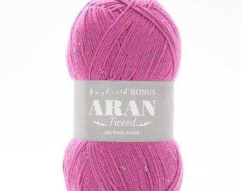 Sirdar Bonus Aran Tweed 400g with Wool