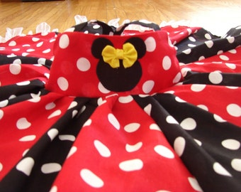 custom boutique disney minnie mouse inspired twirl dress 2-6