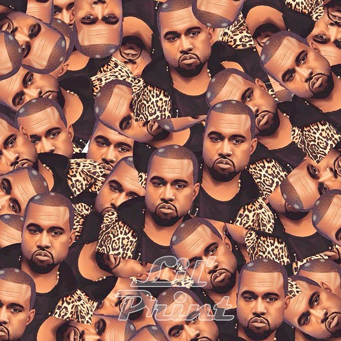 Kanye West original-Leinwand auf Kiefer Rahmen Kunstwerk