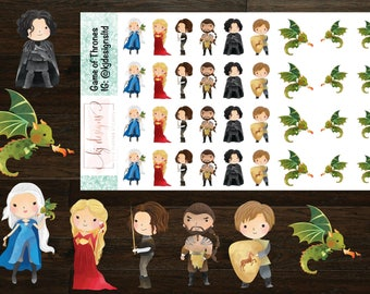 Game of Thrones Planner Stickers
