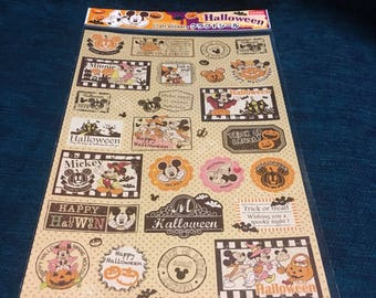 Disney micky mouse Halloween craft stickers from japan