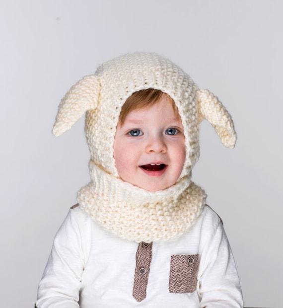 Pdf Little Lamb Coverall Hat Knitting Pattern