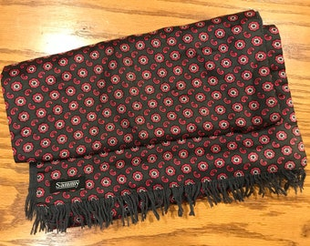 Vintage Men's Rayon scarf from the UK - Sammy