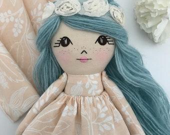 Rag Doll Cloth Doll Fabric Doll Fabric Dolls Rag Dolls Dolls Handmade Cloth Dolls Handmade Heirloom Doll Doll Handmade Little Wildwood Dolls