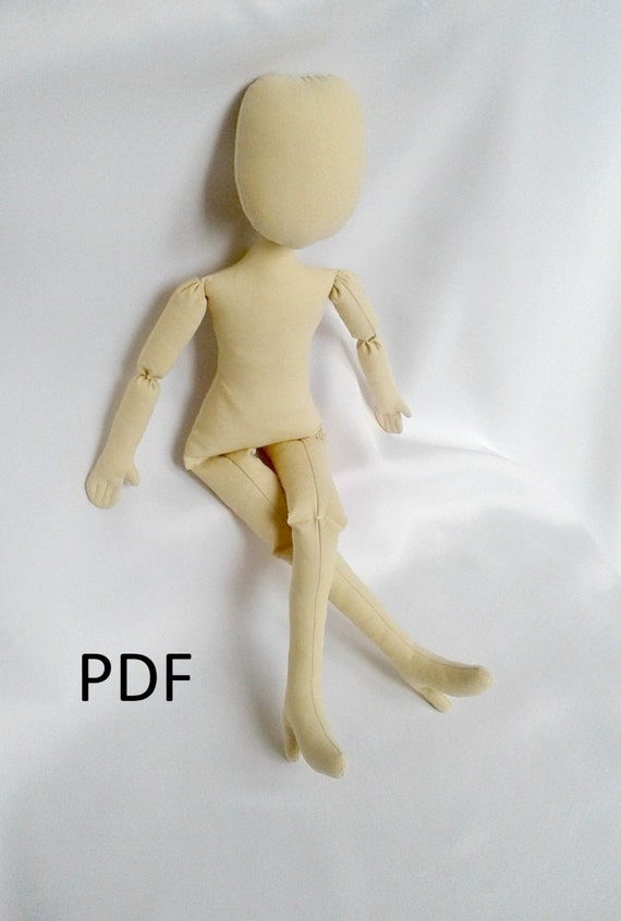 PDF Doll Pattern with shoes 17\