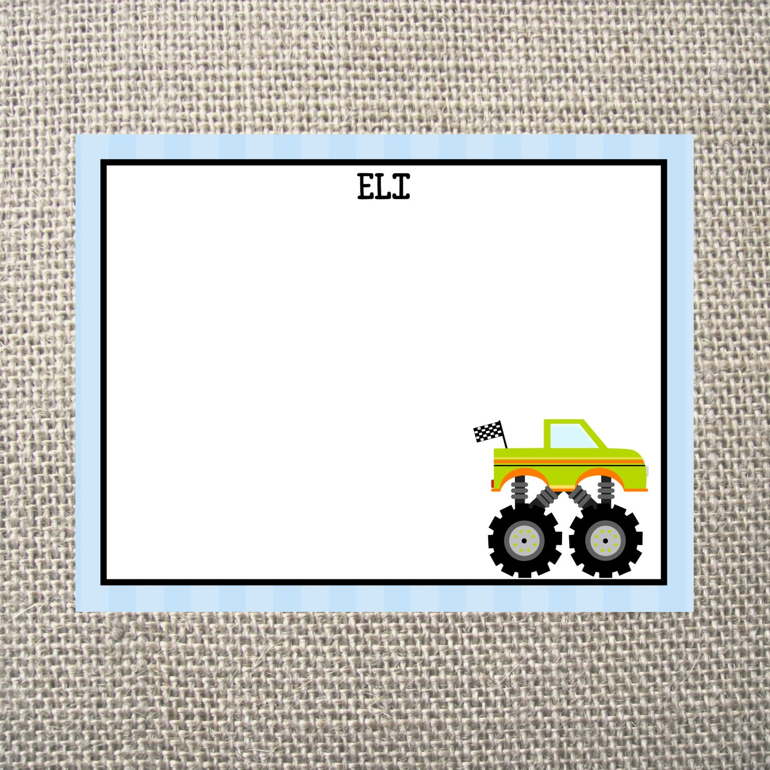 PRINTED or DIGITAL | Monster Truck | Birthday Party Invitation ...