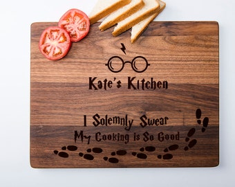 Customized Harry Potter Cutting Board Personalized Cutting Board Harry Potter Always Chopping Board Custom Harry Potter Gifts