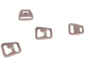 SALE Tan Nursing Clips - 10mm - 10 Sets (PM10BN2-10)