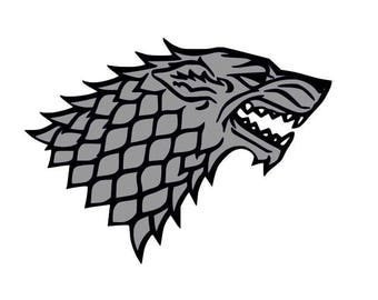 Direwolf game of thrones SVG