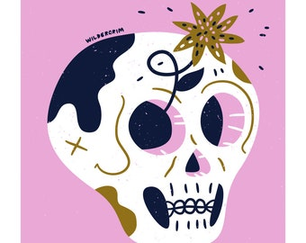 Skullage - A3 Print