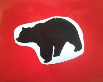 Black Bear Window Decal / Bear Window Decal/Bear/Bear Decal/Bear Yeti Cup Decal/ Bear Stickers