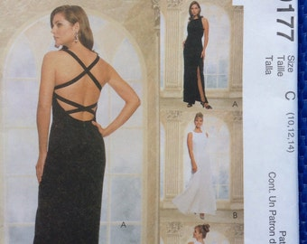 McCalls Evening Elegance evening gown sewing pattern