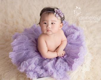 Lavender Baby Headband, Purple Flower Headband, Lilac Newborn Headband, Most Gorgeous Baby Headband For Easter, Baby Photograpy Prop