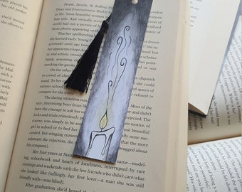 Beautiful Handmade Candle Bookmark